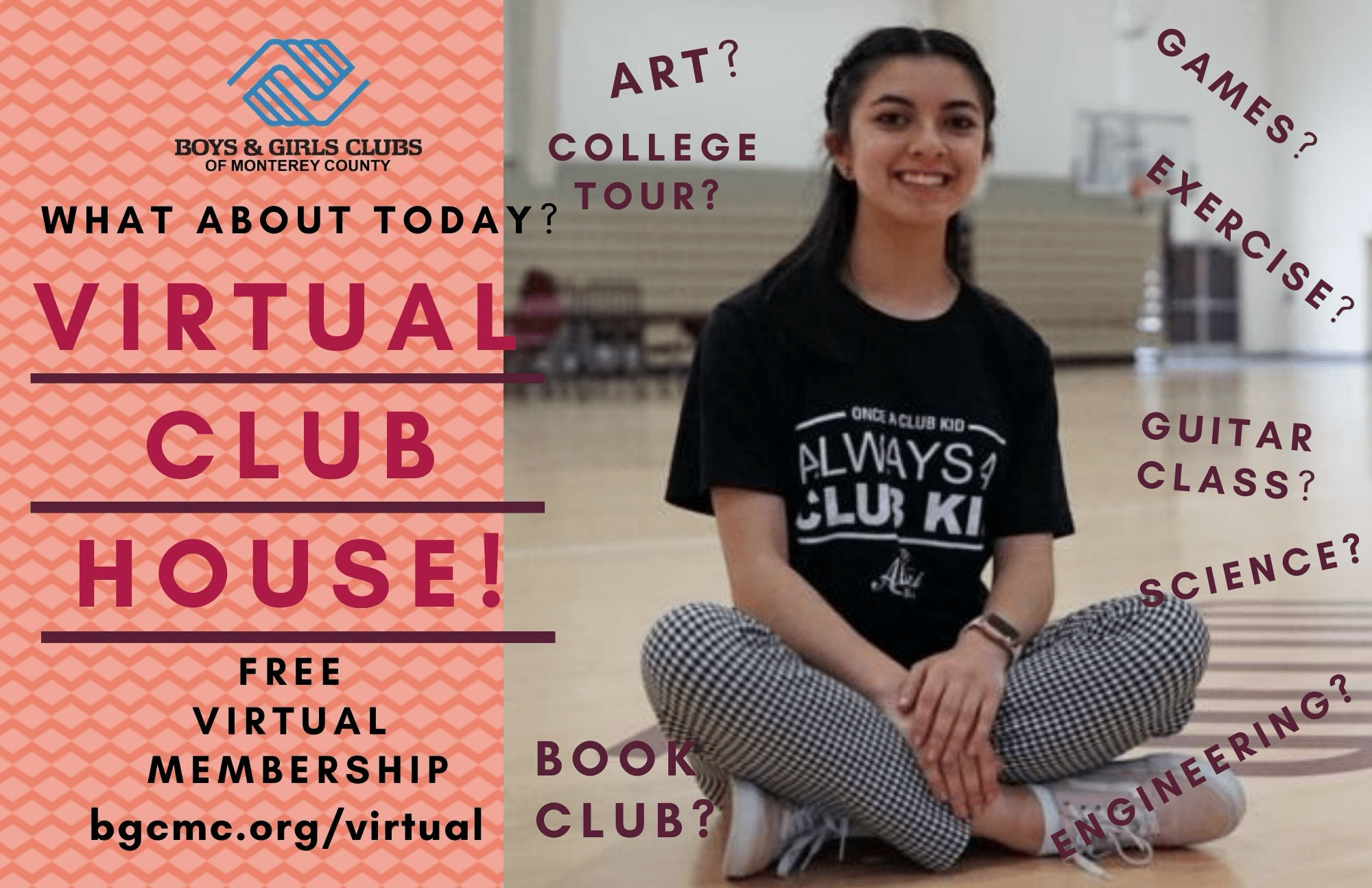 BGCMC Teen Virtual Clubhouse Promo